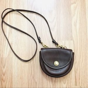 Coach vintage mini brown crossbody purse